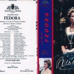 FEDORA (Dessì, Domingo  Dir. Mercurio) – Roma 1999