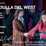 LA FANCIULLA DEL WEST (Dessì, Armiliato, Almaguer ; Dir Veronesi  Reg Harms) Torre del. Lago 2010