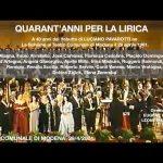 Concerto PAVAROTTI – 40 anni per la lirica – Modena 29-04-2001